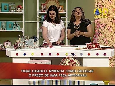 Heloisa Gimenes - Porta Chaves e Recados em Cartonagem - Sabor de Vida 21.09.2014