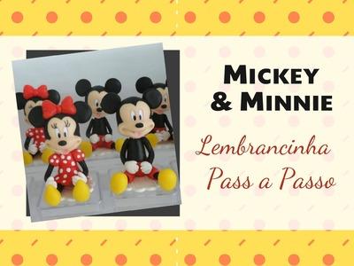 Mickey e Minie lembrancinhas
