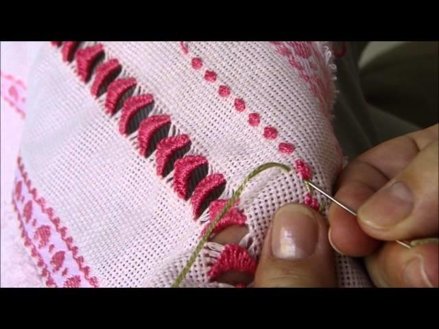 Amiga das linhas 2 - Botãozinho de rosa