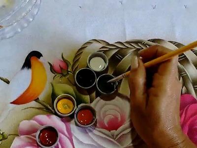 Como Pintar Passarinho - Para Iniciantes