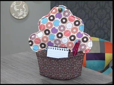 Cupcake porta recados - 23.02.16