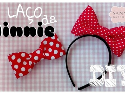DIY Laço da Minnie