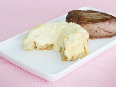 Batata Argentina com Bacon e 3 Queijos | Sal de Flor