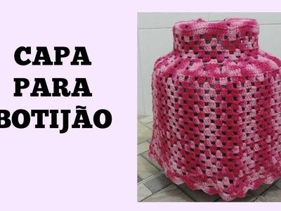 Capa para botijão em crochê | Marta Alves