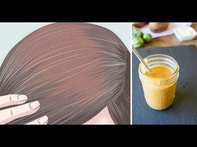 Como acabar com os cabelos brancos naturalmente sem usar tintura