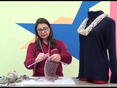 Cristina Amaduro - Gola em tricô