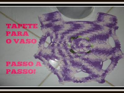 Crochê -Tapete  para o vaso. Marta Alves