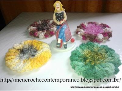Flor Catavento com 16 Pétalas