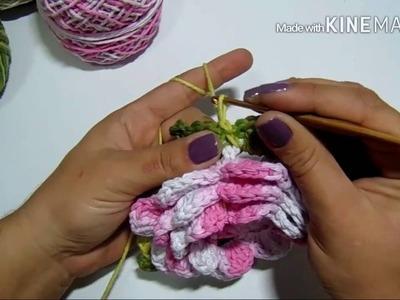 Flor e crochê - Amor Perfeito