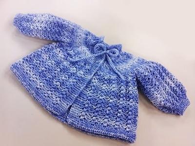 Suzete Lemos - Casaquinho de Bebê em tricô