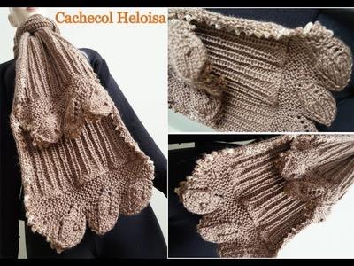 Tricô - Cachecol Heloisa