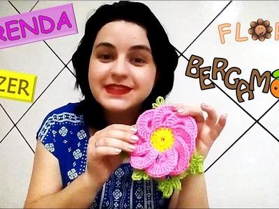 Aprenda a Fazer Flor Bergamota em Crochê Passo a Passo