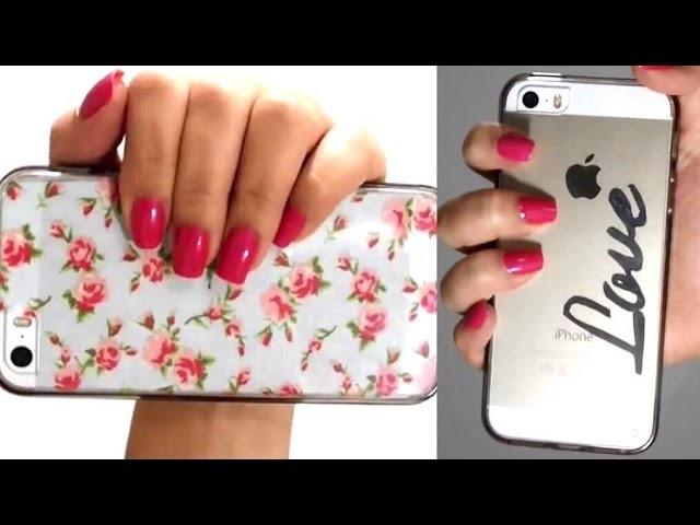 DIY | Personalize suas capinhas de Celular!