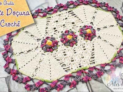 Tapete Doçura  de #crochê- Artes da Desi