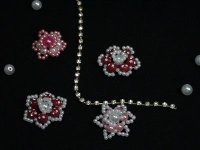 DIY__flor de pérolas simples 1