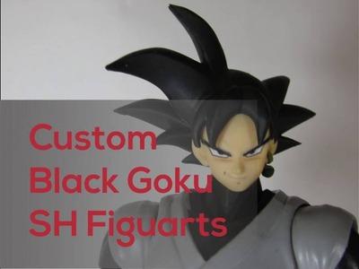 Black Goku SH Figuarts Custom