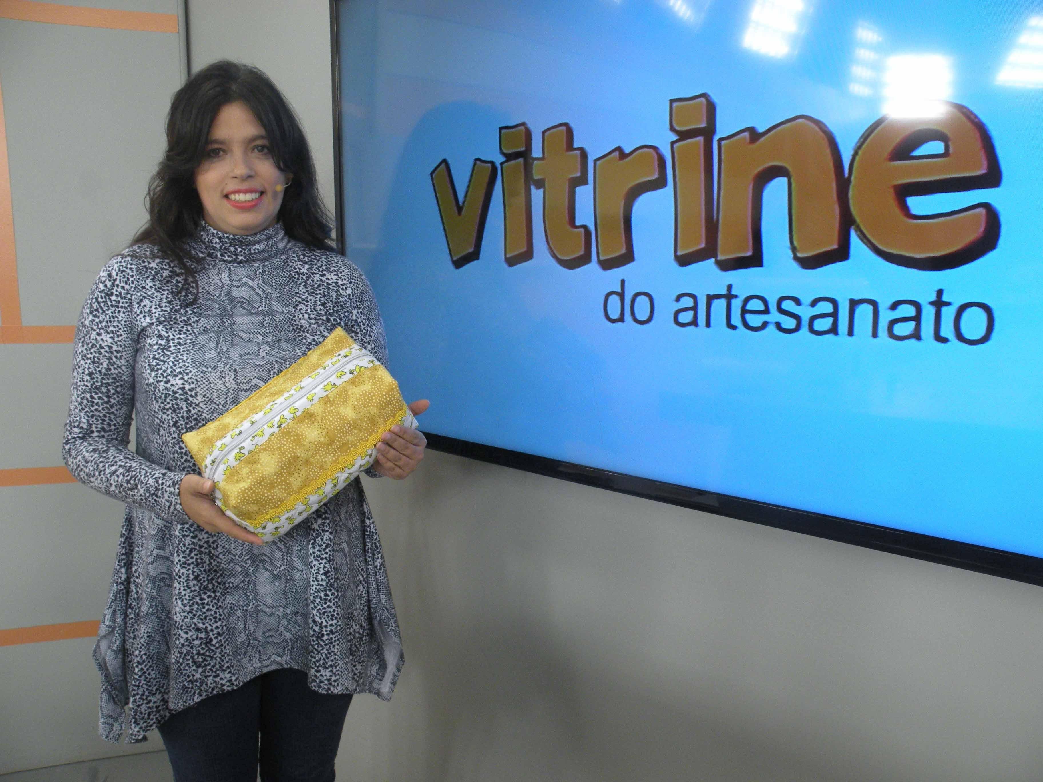 Frasqueira com Quilt com Vanessa Fernandes | Vitrine do Artesnato na TV