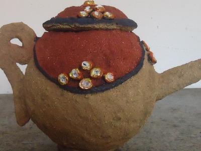 Objeto d decoração com areia!!!