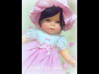 Restauração de bonecas no Ateliê Titis Costa
