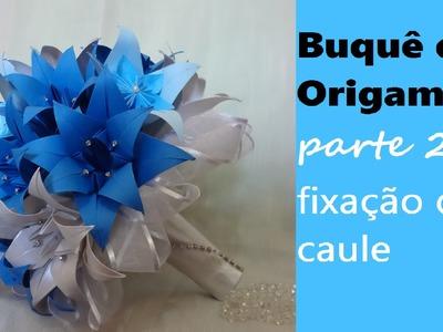 Buquê de Origami - parte 2 #veda9