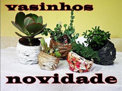 DIY, VASINHOS SUPER NOVIDADES (MACETINAS SUPER NOVEDAD)