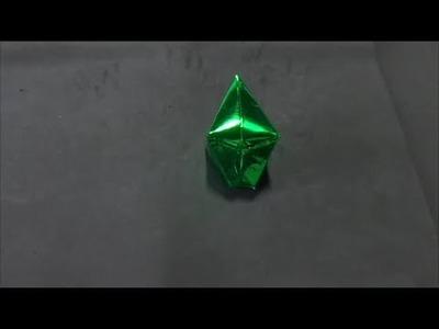 How to make a paper balloon (Como fazer balão de papel)