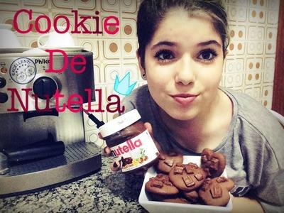 #TiaJuEspecialFérias | Como fazer Cookies de Nutella
