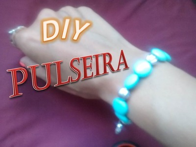 DIY (#3) -  Pulseira Azul Turquesa