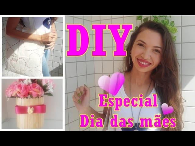 DIY - Especial Dia das mães - 2 presentes lindos e fáceis de fazer - Faça você mesmo
