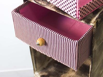 DIY - Gaveta do Mini-criado (montagem) ✂️ Artesanato VEDA#17