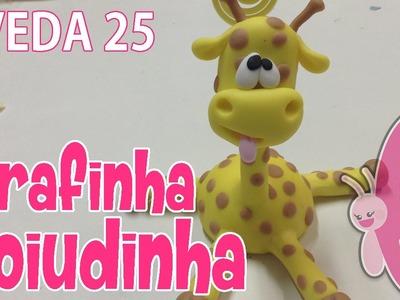 DIY - Girafinha Zoiudinha - Sah Passa o Passo #VEDA 25
