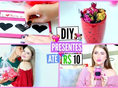 3 DIY Fáceis e Baratos para o Dia dos Namorados ♡ | Presentes e Idéias