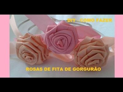 COMO FAZER ROSAS DE GORGURÃO - DIY