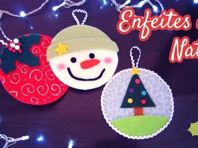 Como fazer Enfeites de Natal reutilizando CDs - DIY Christmas Crafts