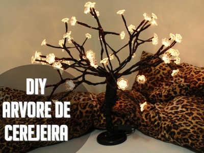 Diy Árvore de Cerejeira (Imaginarium) -por Camila Delamar
