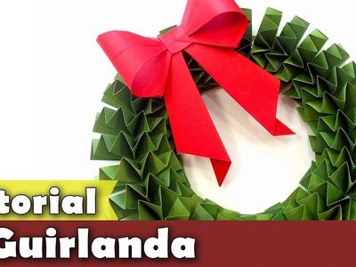 DIY | Faça sua Guirlanda de Natal | Tutorial | #PapelEmTudo