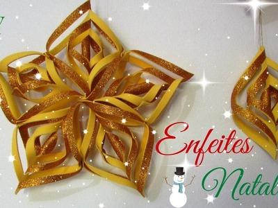Enfeites Natalinos | Diy Especial de Natal #1