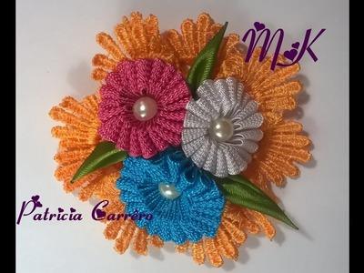 Flor de sianinha DIY