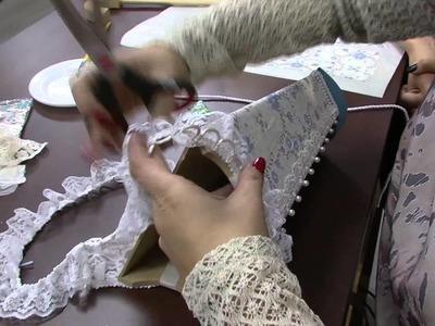 Mulher.com 09.07.2014 - Madeira e Tecido Adesivado por Marisa Magalhães