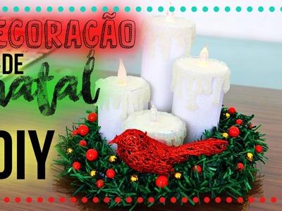 NATAL DiY: Idéia Incrível de Decoracão de Natal |Tatiane Xavier
