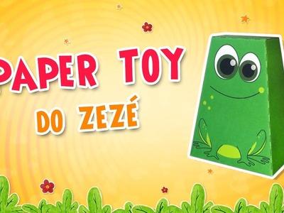 Paper Toy do Zezé