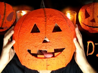 DIY Abóboras Halloween | Aprenda com Edu
