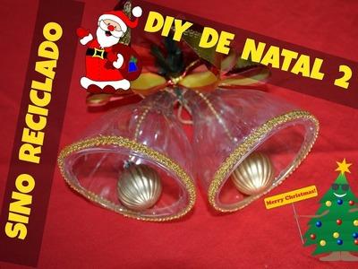 DIY de Natal 2 - Sino reciclado