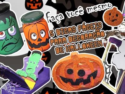 DIY; Faça você mesmo! Cinco Dicas Fáceis para Decoração de Halloween
