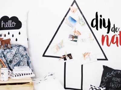 DIY ÁRVORE DE NATAL POR MENOS DE R$10 Pinterest Inspired