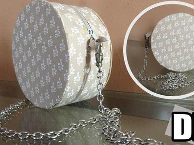 DIY - Bolsa redonda sem costura