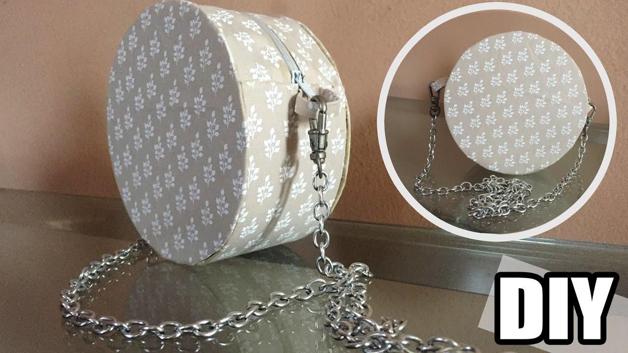 Bolsa De Tecido Redonda : Diy bolsa redonda sem costura