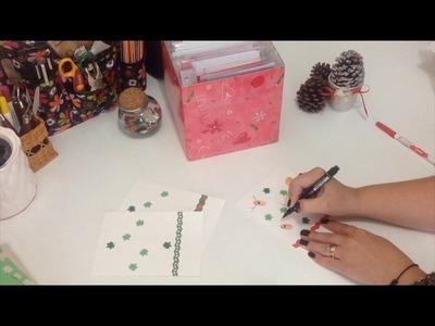 DIY - Cartão de Natal para fazer com crianças