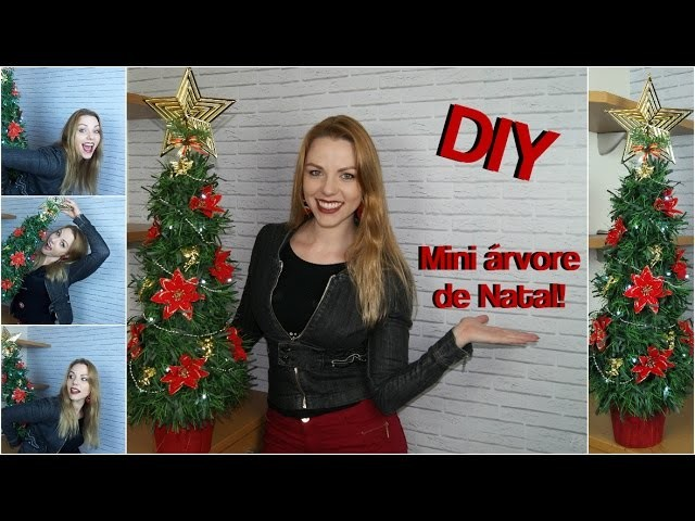 DIY - Mini árvore de natal