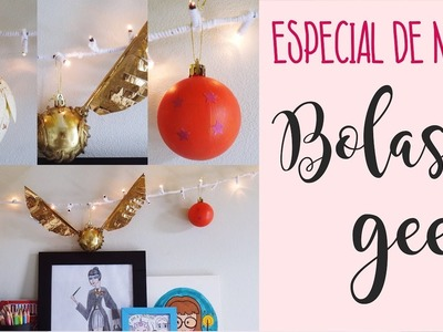 ESPECIAL DE NATAL - DIY - Bolas de Natal Geek (Game of Thrones, Dragon Ball e Harry Potter)
